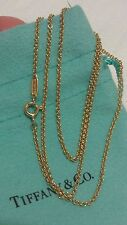 Tiffany & Co. Yellow Gold 18 Inches Chain