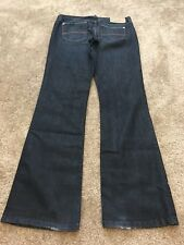 Armani Exchange A/X Womens Jeans Size 4 Short Dark Bordeline Indigo Actual 28X30