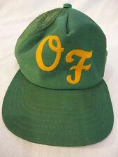 Men's Vintage O F Trucker Snapback Cap Hat Made in USA