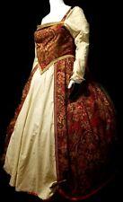Fantasy Civil War Renaissance tudor victorian Reenactment Dress Size 38in waist