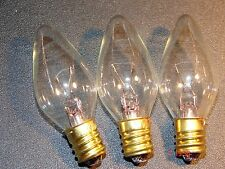 Xmas bulbs--12v E12 clear ( 3 bulbs) Lyvia