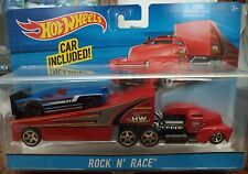 HOT WHEELS ROCK N RACE HAULER BIG RIG SEMI TRUCK BDW59 2015 *NEW*