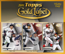 2018 Topps Gold Label Baseball - CLASS 1 - PICK YOUR CARD - COMPLETE YOUR SET -