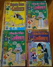 Richie Rich & Cadbury the Perfect Butler Comics Lot of 4 #s 2, 5, 5 & 7