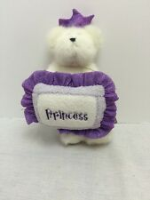 "Boyds Bear Plush Collection Princess Alaina Jointed Bear W/Pillow 9"""