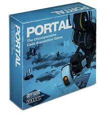 PORTAL - The Uncooperative Cake Acquisition Board Game (Cryptozoic) #NEW