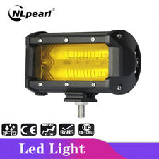 5inch 72W Yellow LED Work Light Bar Off Road Car Truck 4x4 Atv Driving Fog Lamp