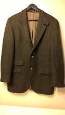 HUGO BOSS Burton HARRIS TWEED Men's VINTAGE Blazer - Size: 42L - Made in CROATIA
