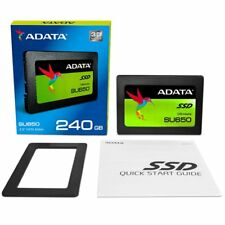 """ADATA SU650 240GB 3D-NAND 2.5"""" SATA III Internal SSD (ASU650SS-240GT-C) NEW"""