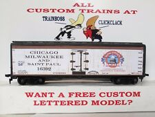 HO CUSTOM LETTERED CAPITOL BREWERY BEER FREIGHT CAR BOXCAR REEFER LOT D