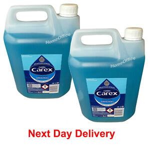 Carex Professional Original Liquid Hand Soap Wash 2 x 5L Litre Tubs