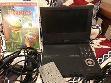 "Toshiba SD-P1600 Portable DVD Player (7"") Great condition"