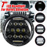 "DOT 7"" inch Motorcycle Headlight Round LED Projector For Harley Davidson"