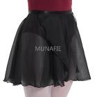 NEW 2017 Lady's Sheer Wrap Skirt Ballet Skirt Belly Dance hip scarf Dancewear