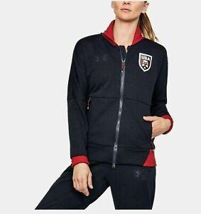 Under Armour women's Threadborne UA Country Pride Jacket size Small