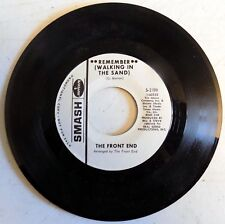 """The Front End - Remember (Walking In The Sand) - 1965 - USA - 7"""" Promo Single-NM"""