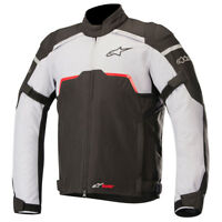 Alpinestars Hyper Drystar Waterproof Motorcycle Jacket Black & Mid Grey