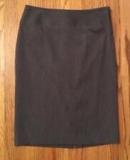 Rafaella Dark Gray Pencil Skirt Size 4 Lined Stretched Career Work Charcoal