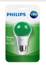Philips Green Light Bulb LED 8 W Porch  Party Veterans Support Porch Patio