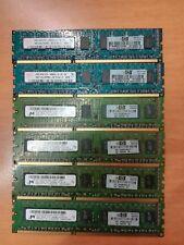 MEMORIA RAM HP MICRON 2GB PC3-10600E DDR3-1333 UNBUFF ECC