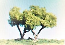 """WOODLAND SCENICS TK11 - 2 1/4"""" FORKED TRUNK TREES (4) - NEW"""