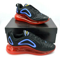 Nike Air Max 720 Running Shoes Black / Red / Royal Blue [AO2924-014] Multi Size