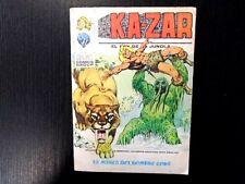 KA-ZAR N° 4 EL REY DE LA JUNGLA EDICIONES VERTICE 1973 !