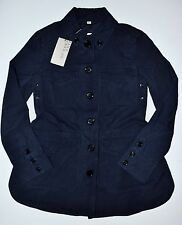 Burberry Brit Steblington Cotton Twill Parka Jacket Navy Blue US 4 (UK 6) - $750