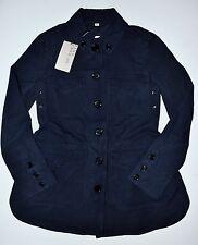 Burberry Brit Steblington Cotton Twill Parka Jacket Navy Blue US 4 (UK 6) - $750