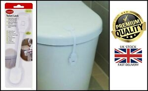 New Clippasafe Toilet Seat Lock Self Adhesive Home Safety Baby Proofing Measure