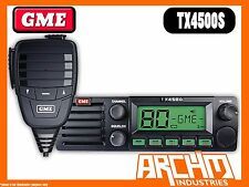 GME TX4500S UHF RADIO- 80CH 5WATT DIN SIZE 2 WAY CB WITH SCANSUITE