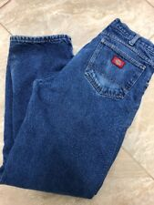 Men Dickies Flannel lined Jeans E99 Size 33x32 or 32x32..  100% cotton