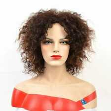 Perruque Luxe Sexy Adulte Femme Cheveux Brune Wigs Déguisement Black Afro 7116