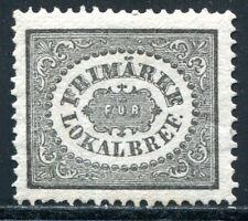SCHWEDEN 1856 6 ungestempelt perfekt ZENTRIERT 750€(Z0671