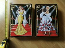Two Churchill's Hollywood Biscuit Tins