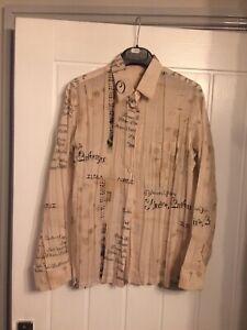 Beautiful ISSEY MIYAKE Shirt Size 2