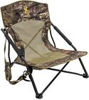 Camo Camping Chair Hunting Hiking Carry Strap Beach Mossy Oak Break Up Seat Low
