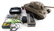 Heng Long RC Tank 2.4G Pershing Snow Leopard SMOKING and SOUND & BB SHOOTING