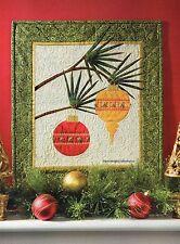 Ornament Wall Hanging Quilt Pattern Pieced/Applique CV