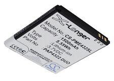 Batterie pour PRESTIGIO MultiPhone 4322 Duo PAP4322 1500mAh 4894128096368