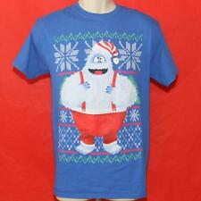 """Bumble Abominable Snowman Rudolph Red Nosed Reindeer Tshirt M 19"""" Pit2Pit Jl-023"""