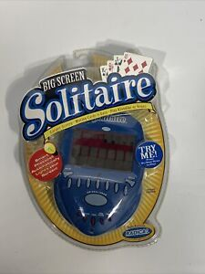 Radica Lighted Big Screen Solitaire 2004 Handheld Electronic Game Sealed Rare