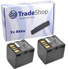 Batería 2x para JVC gr-df590 gr-df590e gr-x5 gr-x5e