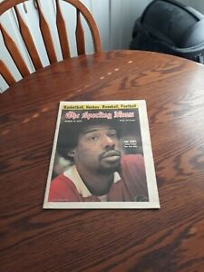 MARCH 15,1975-THE SPORTING NEWS-JULIUS ERVING OF THE NEW YORK NETS(MINT)