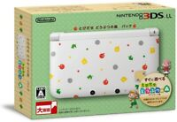 Boxed w/ACadapter Nintendo 3DS XL LL Console Animal Crossing Japan Ver. used