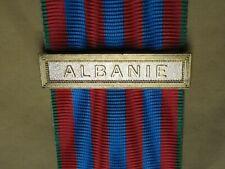 Agrafe ALBANIE  pour la Médaille Commémorative Française