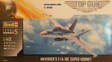 Revell 03864 Top Gun Maverick F/a-18e Super Hornet Aircraft Model Kit 1 48