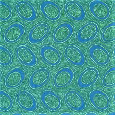 Kaffe Fassett Collective Aboriginal Dot ocean , cotton fabric