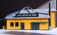 Vintage HO Scale GRAND JUNCTION BOX WORKS  Made of Wood and Cardboard