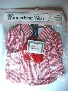 VanderBear Wear Alice VanderBear Tree Trimming Collection New in Package